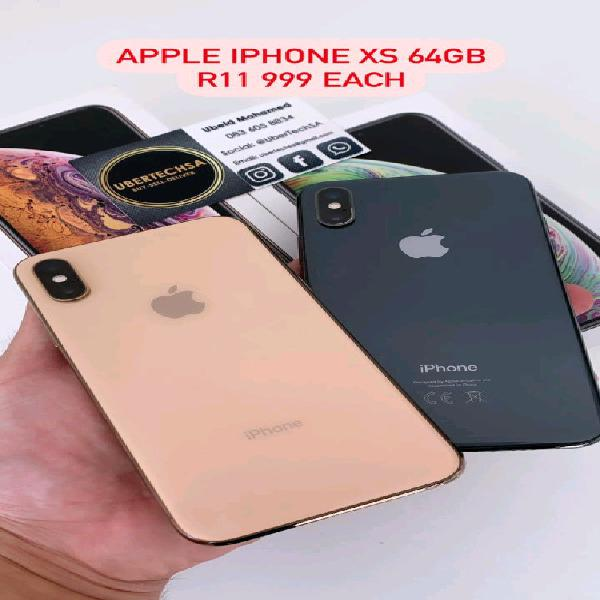 Iphone xs 64gb space grey / gold