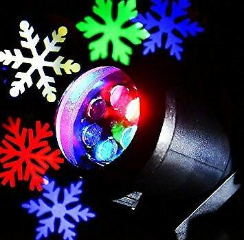 Led outdoor christmas waterproof dynamic snowflake