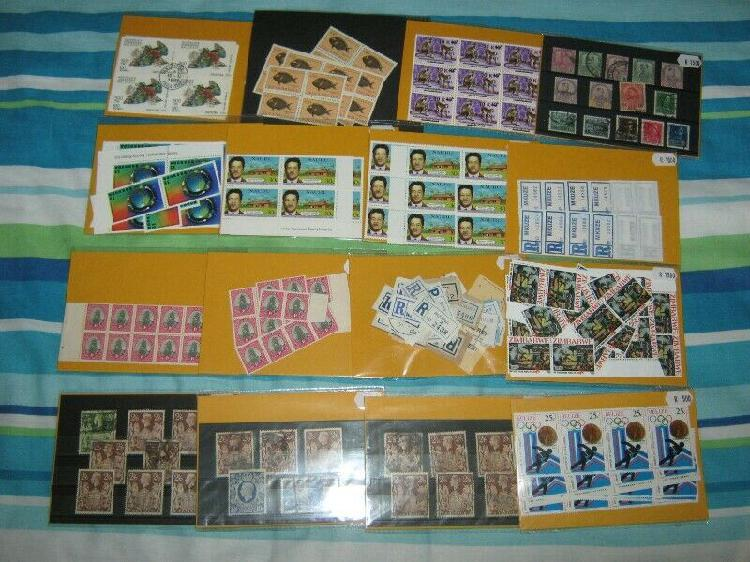 Stamps. world mixture.