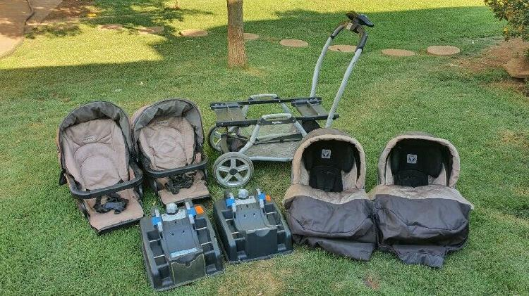 Peg perego duette twin travel system for sale