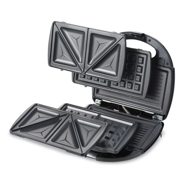 Kenwood accent collection 3-in-1 grill, sandwich & waffle