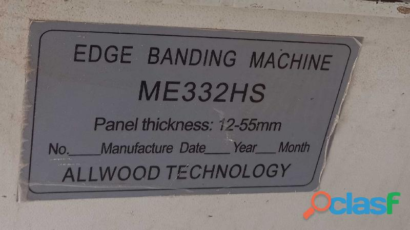 EDGE BANDER MACHINE