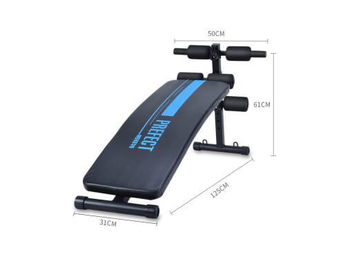 Multifunctional sit up bench abdominal training supine board