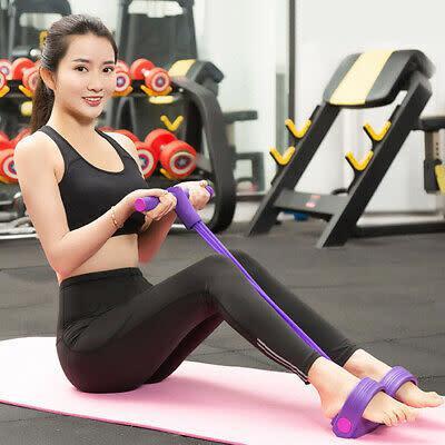 Multifunctional sit-up bodybuilding expander leg exerciser