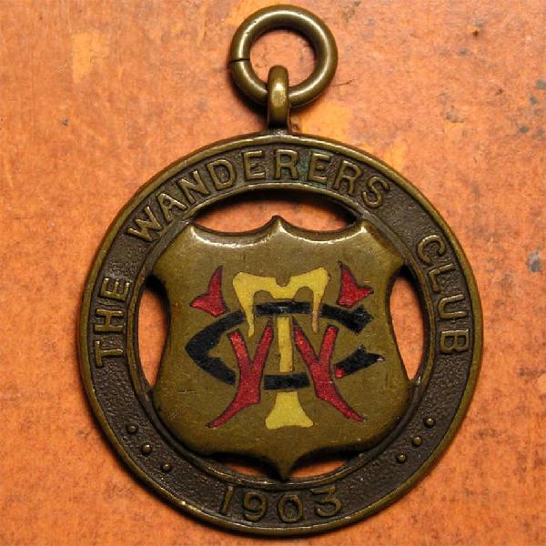 Transvaal: 1903 wanderers club membership badge