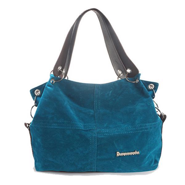Fashion women lady flannel handbag shoulder bag crossbody