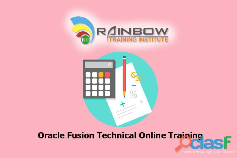 Oracle fusion technical online training | oracle fusion technical training hyderabad