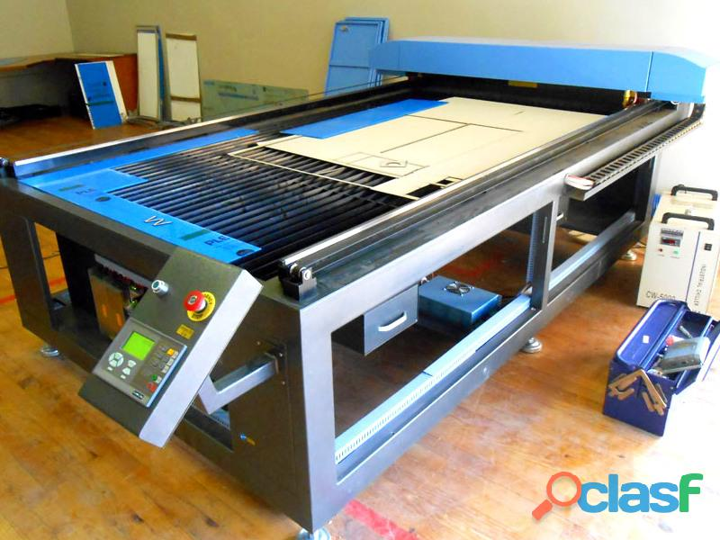 Lc 2040/s160 trucut standard range 2050x4000mm flatbed type, heavy weight fixed table