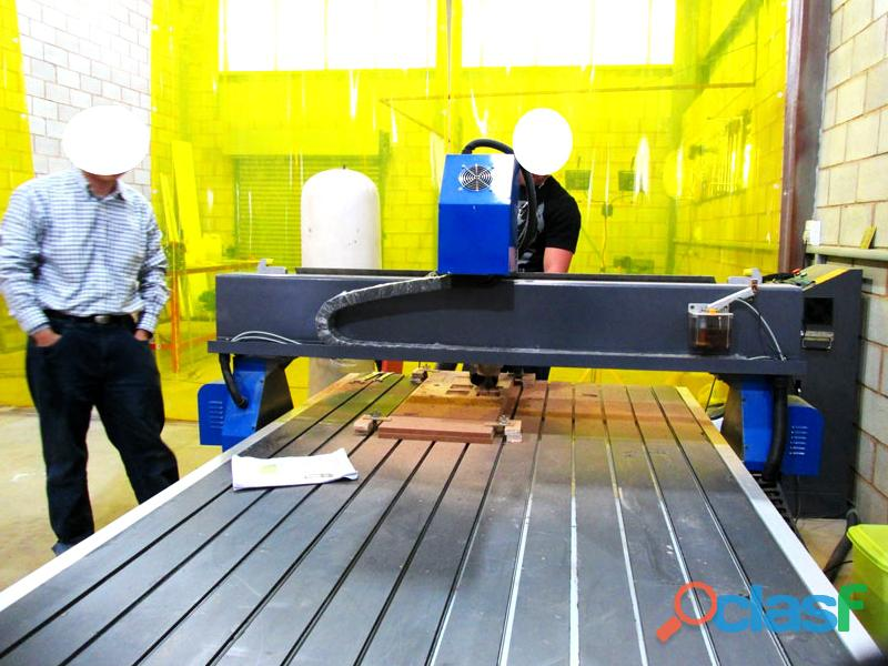 R 1325lc/65 easyroute 380v lite 1300x2500mm aluminium t slot clamping cnc router, 6.5kw