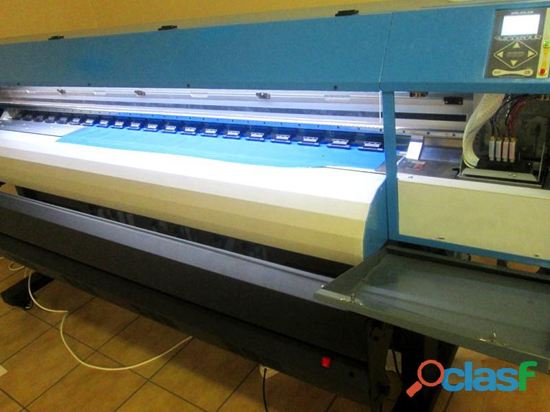 F1 1604d fastcolour one 1600mm printing area double printhead large format printer, sai