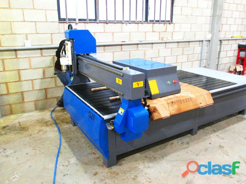 R 1325lc/55 easyroute 380v lite 1300x2500mm aluminium t slot clamping cnc router, 5.5kw