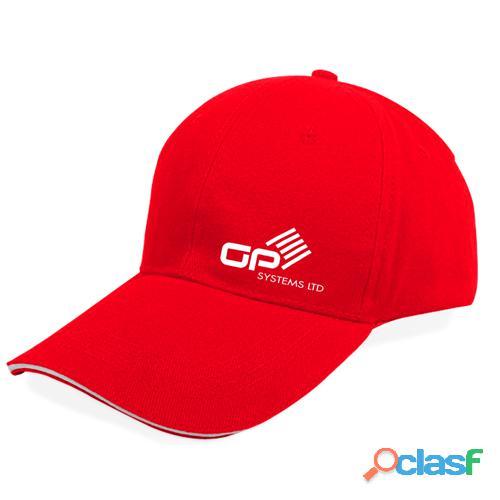 Boost brand name using curved brim cotton baseball cap