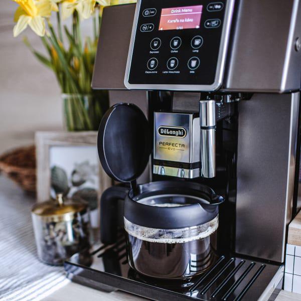 Delonghi perfecta evo bean to cup & pot coffee machine