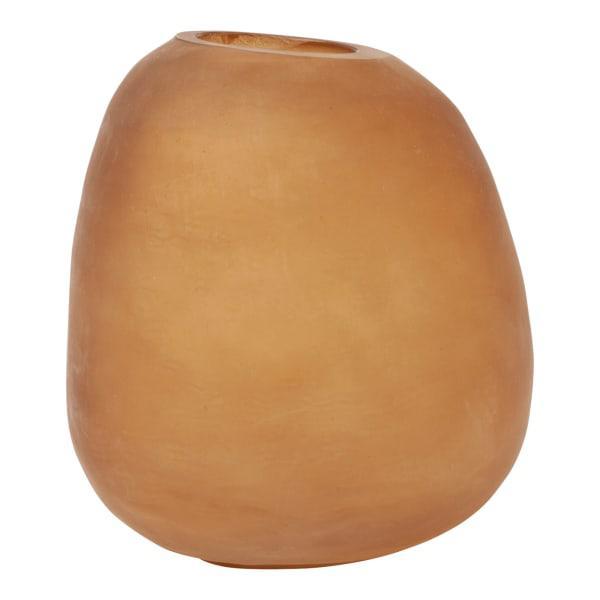 Hertex haus small amber stone vase