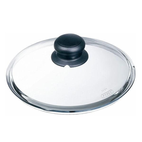 Pyrex classic glass lid, 24cm