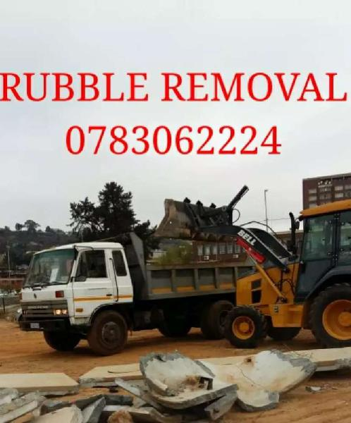 R 750 rubble removal / furniture removal