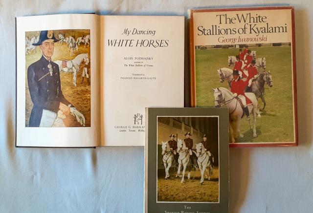 Horses - the white stallions of kyalami 1st edition signed