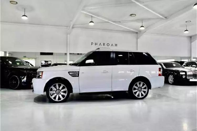 Land rover range rover sport supercharged autobiography