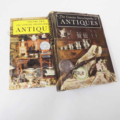 Lot of 2 the concise encyclopedia of antiques - volume 1 & 2