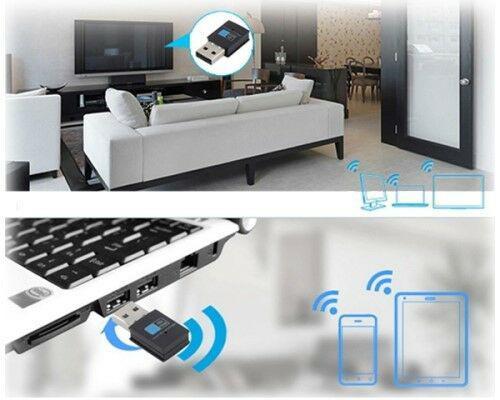 300mbps wifi wireless adapter 802.11 b/g/n network lan mini