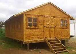 Wendy houses and log homes for sale