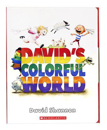 Davids Colorful World 5 Books And Cd - Audio Book