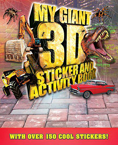 Giant 3D Sticker and Activity Book By Igloo Books Ltd