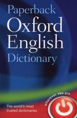 Paperback oxford english dictionary (paperback, 7th revised