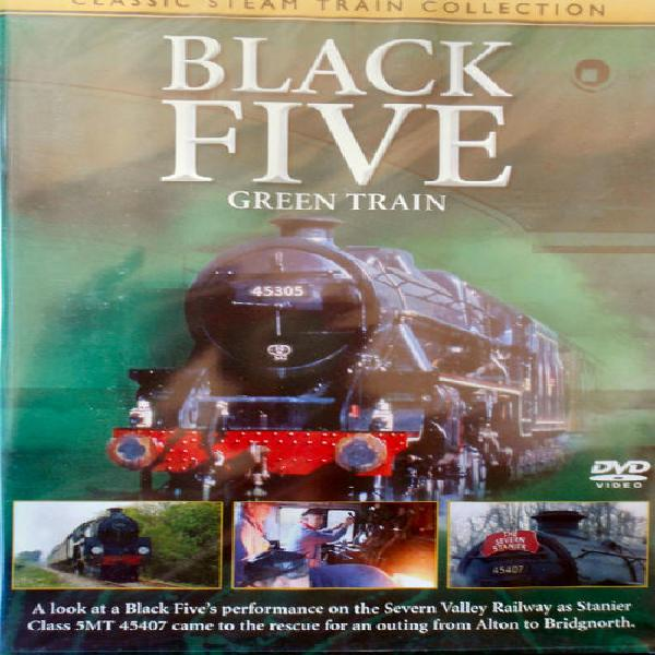 Go grd 5419 classic steam train collection black five green