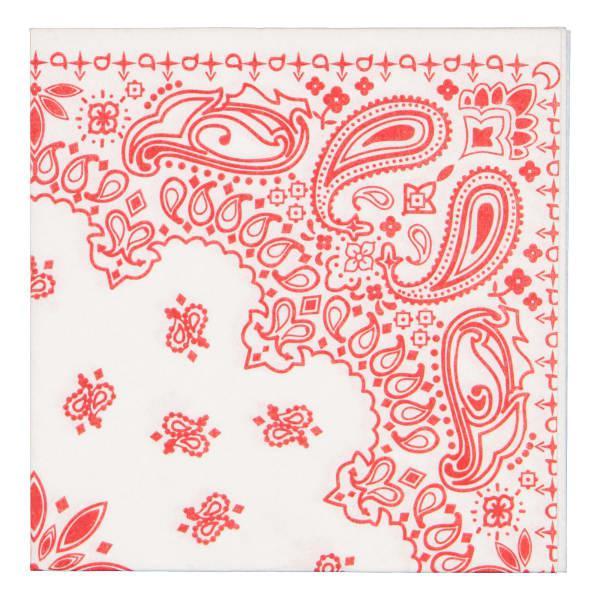 Tavola Bandana Biodegradable Paper Napkins, Pack of 25