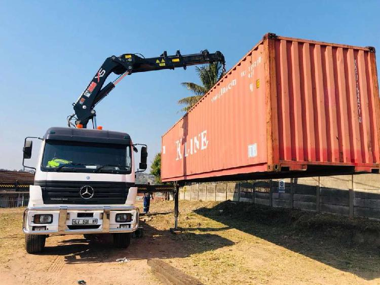 CRANE TRUCK FOR HIRE-Dbn+surrounding areas