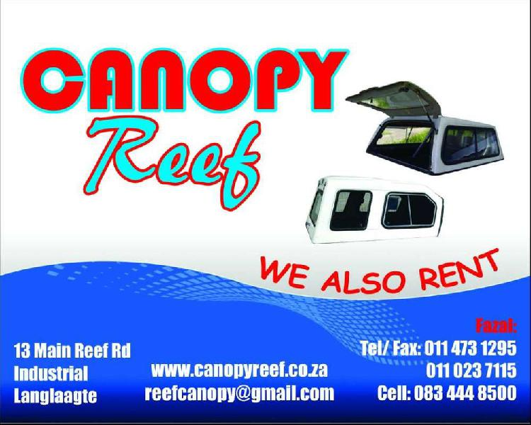 Canopy Reef: New and pre-owned bakkie canopies 0