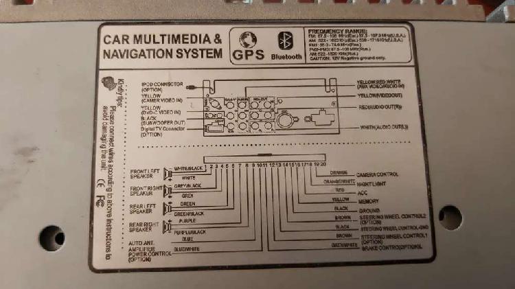 Toyota fortuner entertainment system(no gps) plus gps satnav