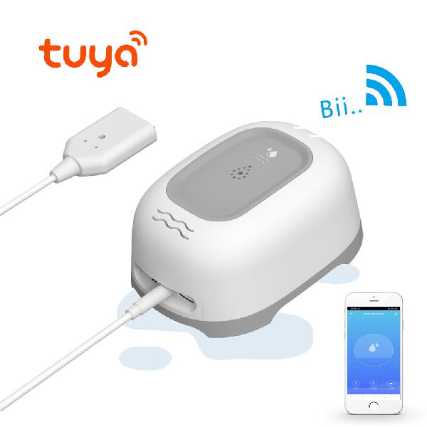 Bakeey tuya smart wifi water leak alarm sensor wireless