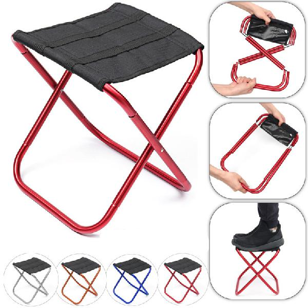 Outdoor portable aluminum folding chair outdoor camping