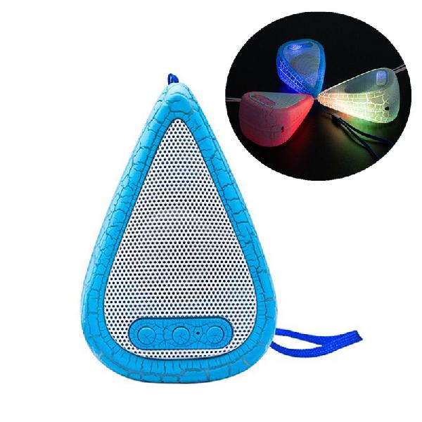 Outdoor portable led light weight water drop shape hifi