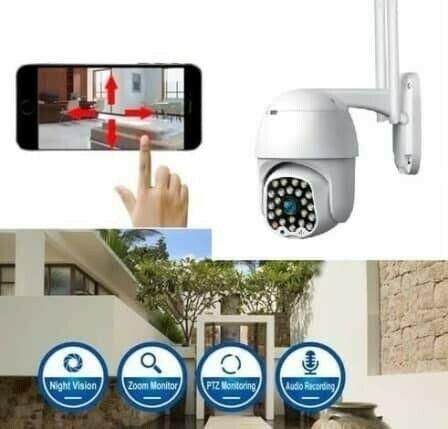 Outdoor surveillance camera - wi-fi - ir night vision -