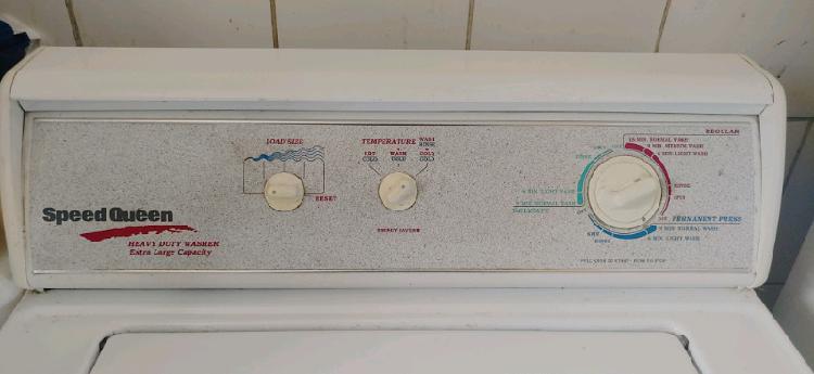 Speed queen xl capacity heavy duty washer
