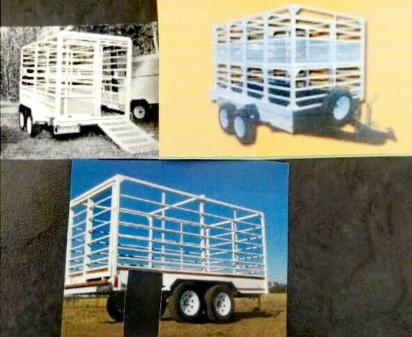 2021 new 3 ton cattle trailer