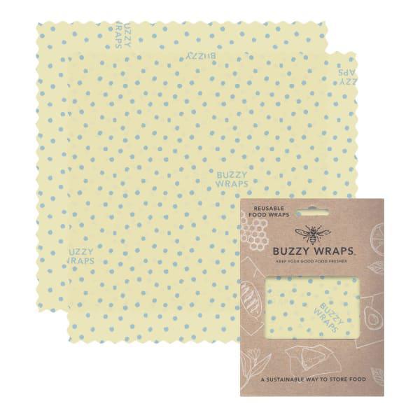 Buzzy wraps medium food wraps, pack of 2