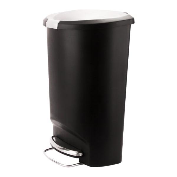 Legend plastic step bin, 15l