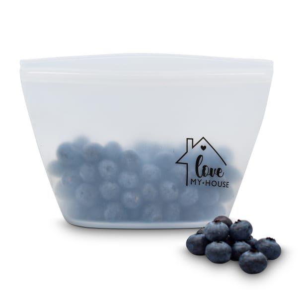 Lovemyhouse reusable silicone food storage bag