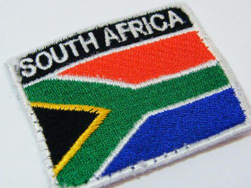 New south african flag cloth badge as used by sandf - as per