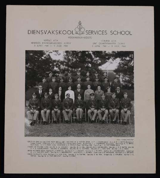 Original photograph: services school voortrekkerhoogte