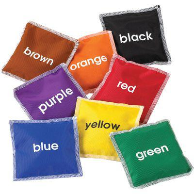 Edx education colour bean bags (set of 8 bean bags)
