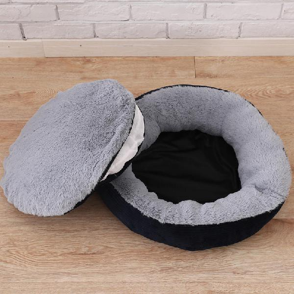3 colors anti-scratch winter warm pet bed kennel dog cat