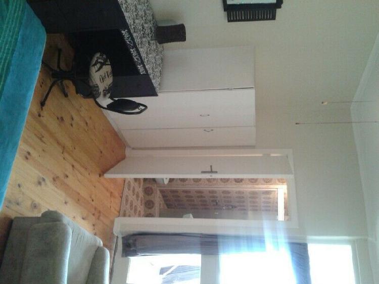 Furnished room. nice sized bar fridge.own bathroom.