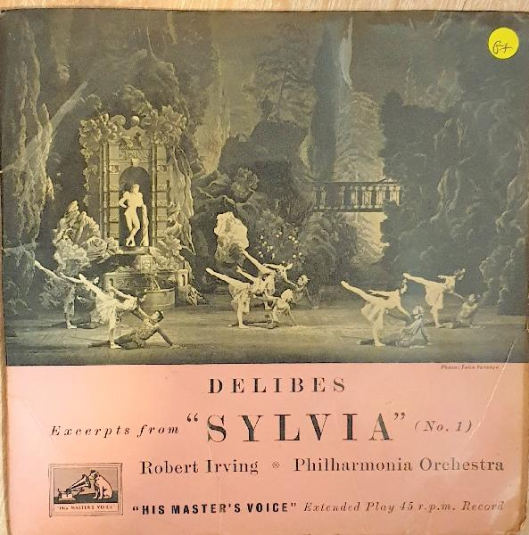 Delibes - from sylvia - rovert irving - philharmonia