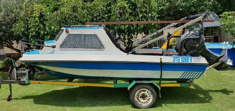 Sportsman cabin fishing boat for sale