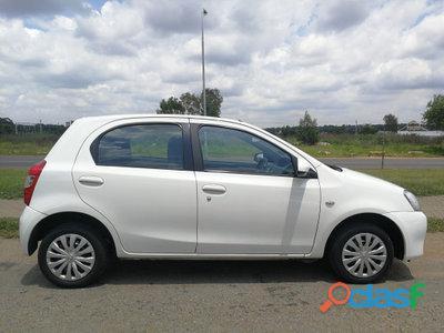 2014 Toyota Etios 1.5 Xs 5dr 2